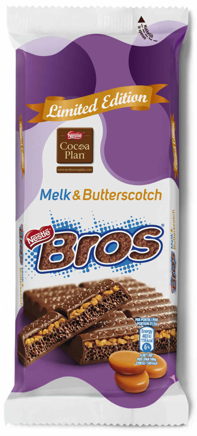 Bros Melk & Butterscotch limited edition